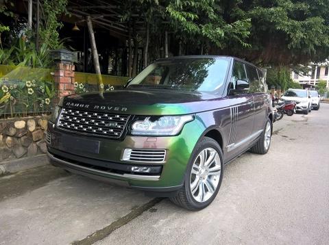 Range Rover xanh tan sac duy nhat o Viet Nam hinh anh