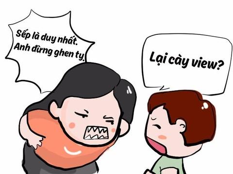 Tinh huong bi hai khi ban gai cuong cay view cho MV Son Tung hinh anh
