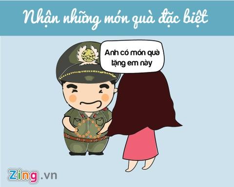 Ban se the nao neu yeu chang chien si cong an? hinh anh 8