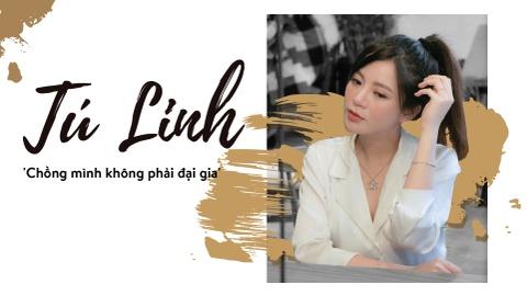 Hot girl Tu Linh: 'Chong minh khong phai dai gia' hinh anh 2