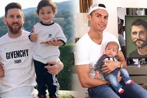 Bat mi thu vi ve 2 cau am cung ten Mateo cua Messi va Ronaldo hinh anh