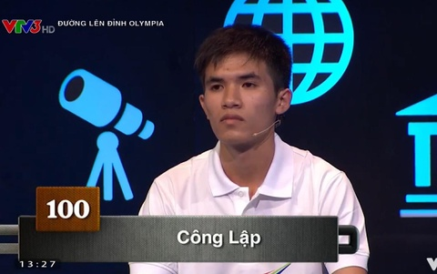 Cong Lap vuon len dan dau voi 100 diem Khoi dong hinh anh