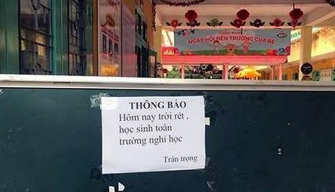 Chan tay te cong, 140.000 hoc sinh Lang Son duoc nghi hinh anh