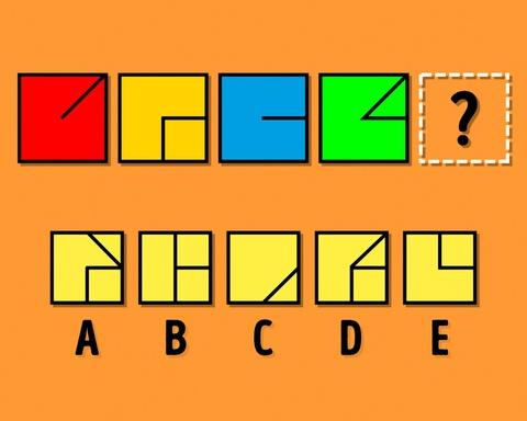 Đố bạn tìm ra quy luật và điền hình còn thiếu vào ô vuông này