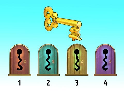 Đố bạn chiếc chìa khóa này mở được cánh cửa nào?