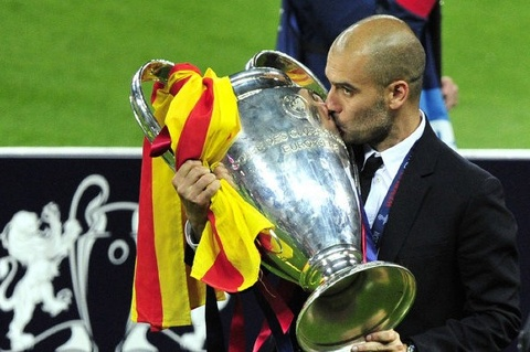 Pep Guardiola: 'Toi may man khi vo dich Champions League voi Barca' hinh anh