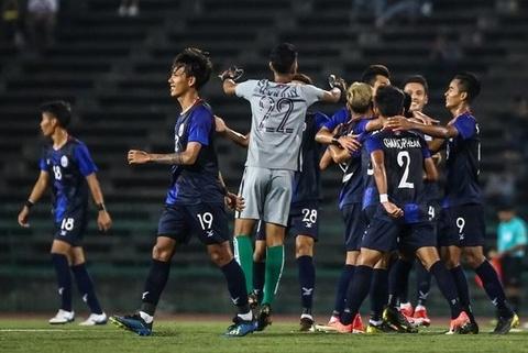 Highlights: U22 Campuchia 2-0 U22 Myanmar hinh anh
