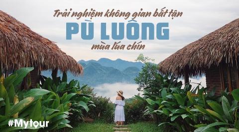 #Mytour: Trai nghiem khong gian bat tan Pu Luong mua lua chin hinh anh 1