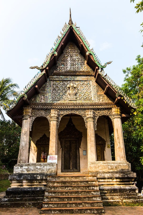 Den Luang Prabang tim lai hinh dang xua nuoc Lao hinh anh 5