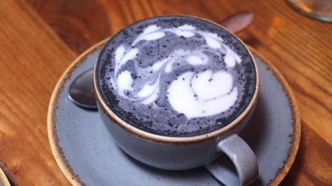 Ca phe than lam tu vo dua, khong chua caffeine o London hinh anh