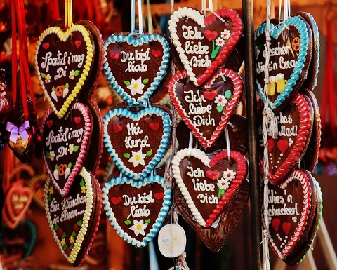 Hau, banh quy va cac mon an khoai khau nhat mua Valentine hinh anh
