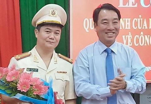 Bộ Công an bổ nhiệm hàng loạt chỉ huy thuộc Công an tỉnh Vĩnh Long