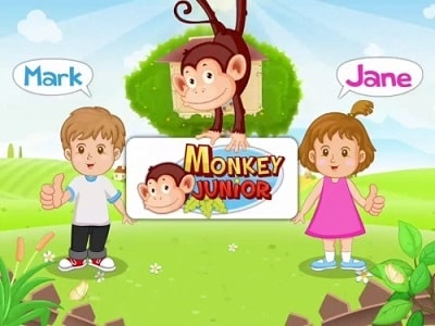 monkey junior hinh anh