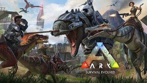 Game sinh ton hap dan ARKL Survival Evolved hinh anh