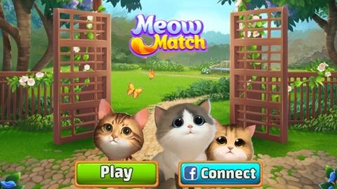 Game nuoi meo kieu moi Meow Match hinh anh