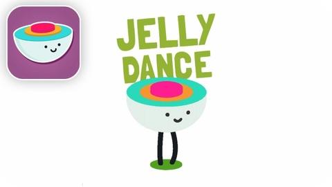 Jelly Dance co do hoa don gian nhung ngo nghinh, bat mat hinh anh