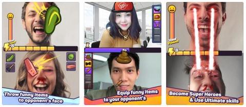 FaceFight Challenge! co cach choi kha moi la va hap dan hinh anh