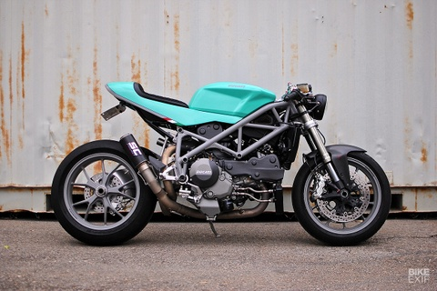 Ducati 848 cafe fighter do mau sac la mat hinh anh