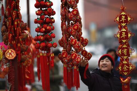 Le hoi den long Trung Hoa to diem mua Tet truyen thong hinh anh 3