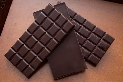 Thanh chocolate dau tien duoc lam ra o dau? hinh anh