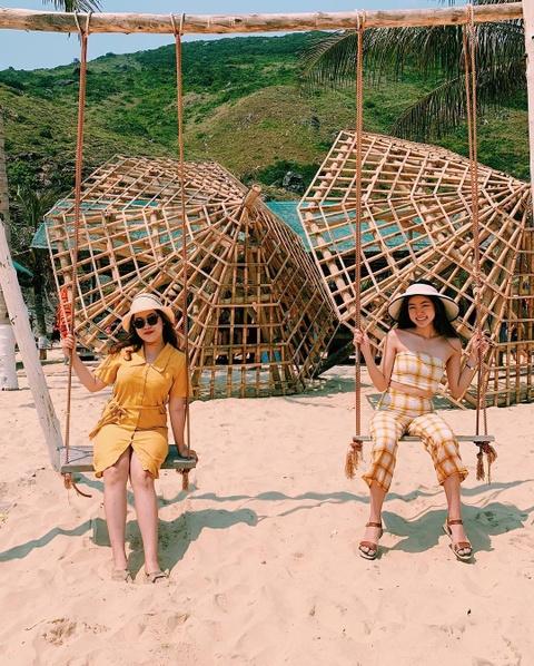 Vung bien trong vat tua Maldives ngay giua Quy Nhon hinh anh 8