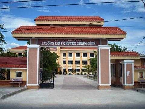 Quang Binh co truong THPT mang ten Dai tuong Vo Nguyen Giap hinh anh