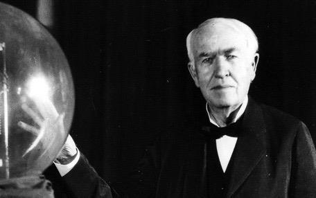 Edison va hon 10.000 lan that bai de mang lai anh sang cho nhan loai hinh anh