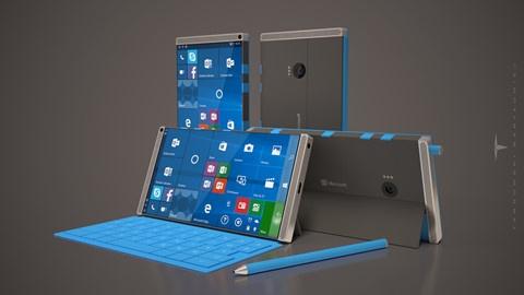 Surface Phone ban mau hinh anh