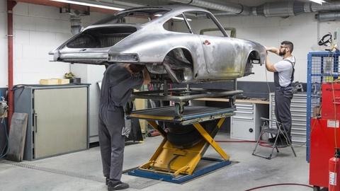 Hanh trinh hoi sinh xe Porsche 901 1964 huyen thoai da cu nat hinh anh 4