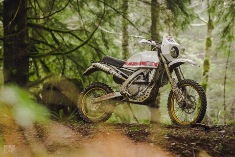 Cao cao Yamaha WR450F 2017 phien ban Dakar den tu My hinh anh 1