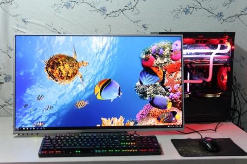 Game thủ Việt ráp màn hình 4K, 32 inch chỉ với 5 triệu đồng