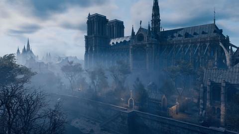 Co mot Nha tho Duc Ba nguyen ven trong game Assassin's Creed Unity hinh anh 10