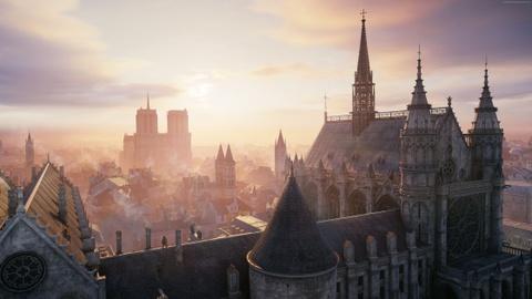 Co mot Nha tho Duc Ba nguyen ven trong game Assassin's Creed Unity hinh anh 7