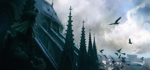 Co mot Nha tho Duc Ba nguyen ven trong game Assassin's Creed Unity hinh anh 8