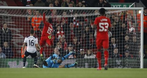Ha Tottenham, Liverpool tien vao tu ket cup Lien doan hinh anh 3