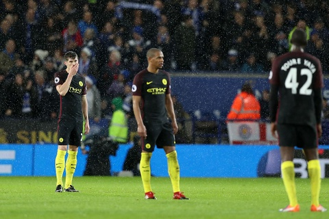 Vardy lap hat-trick, Leicester de bep Man City 4-2 hinh anh 10