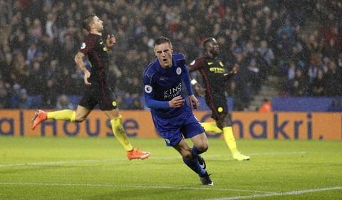 Vardy lap hat-trick, Leicester de bep Man City 4-2 hinh anh 8