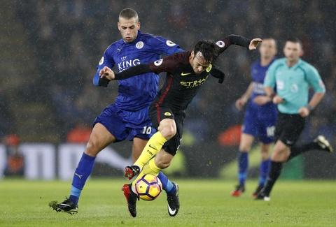 Vardy lap hat-trick, Leicester de bep Man City 4-2 hinh anh 9