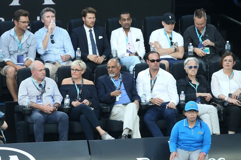 Vo, ban gai chay het minh co vu Federer, Nadal hinh anh 3