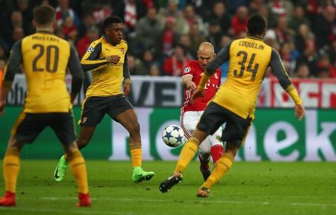Bayern vui dap Arsenal 5-1 tren san nha hinh anh 5