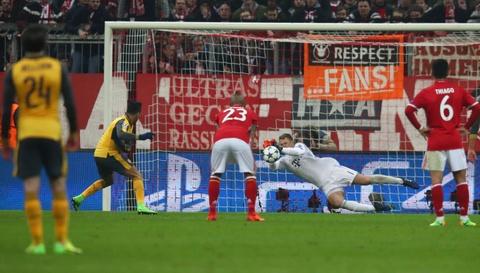 Bayern vui dap Arsenal 5-1 tren san nha hinh anh 8