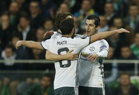 Mkhitaryan ghi ban giup MU vao vong 1/8 Europa League hinh anh 6