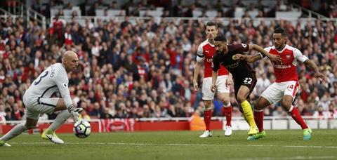 Hoa Man City, Arsenal bo lo co hoi vuot mat MU hinh anh 6
