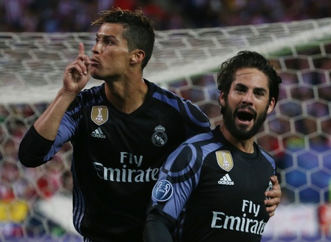Cham diem Atletico 2-1 Real: Isco len dinh, Ronaldo cham day hinh anh 11