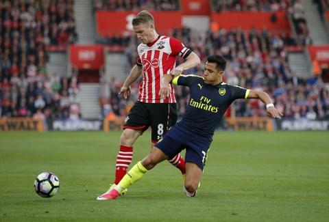 Hang loat cot moc duoc lap trong ngay Arsenal ap sat top 4 hinh anh 2