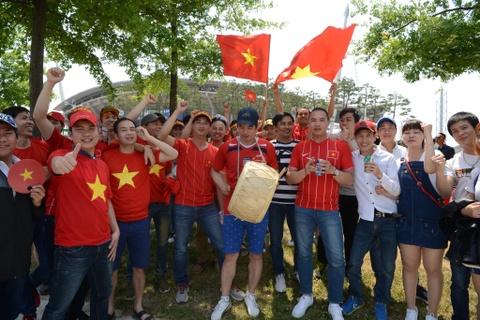 CDV Viet Nam 'doi nang' den SVD Jeonju truoc tran gap U20 Honduras hinh anh 1
