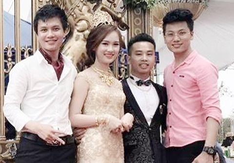 Dam cuoi o Nam Dinh thu hut dan mang hinh anh