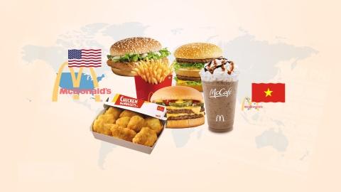 McDonald's ban o Viet Nam co re hon My? hinh anh