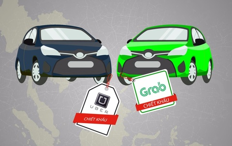 Grab va Uber da nang muc chiet khau tai Dong Nam A ra sao? hinh anh