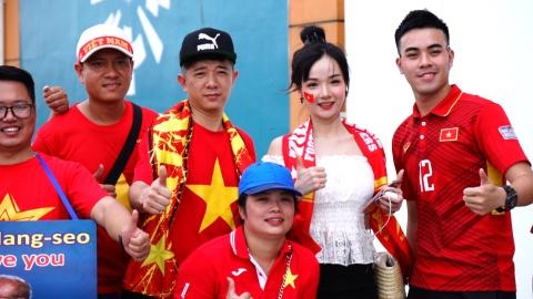 Co dong vien doi nang toi san co vu Olympic Viet Nam hinh anh